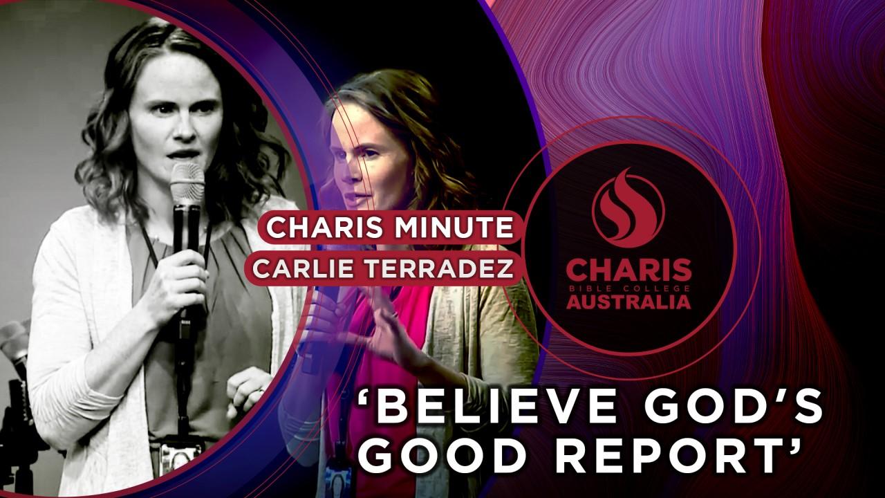 Believe God's Good Report Card